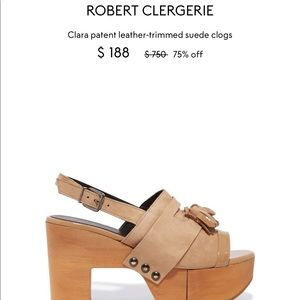 Robert Clergerie Clara  Clogs
